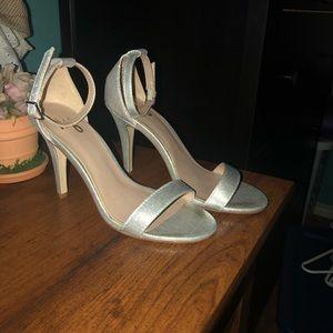 Mix no6 Lina silver metallic sandals